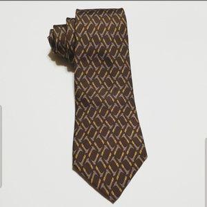 HERMES Necktie 7147 FA 100% SILK
